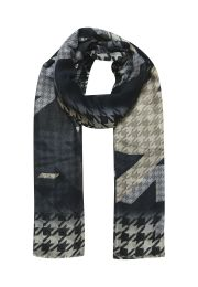Big    Houndtooth designed scarf