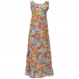 Flowerprinted long dress